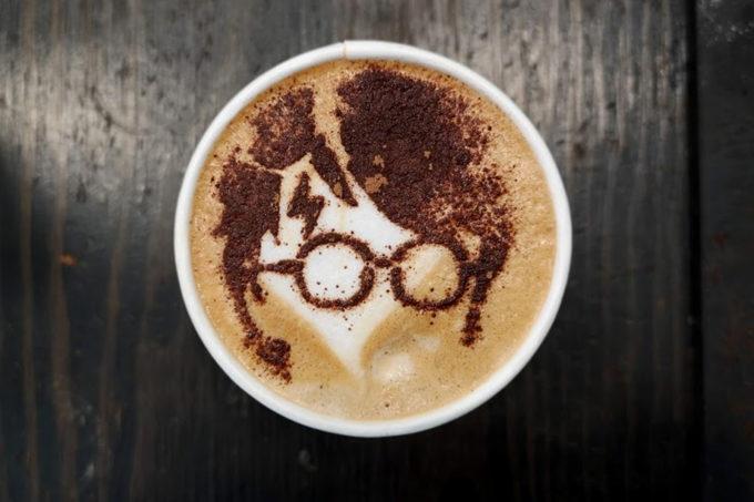 Latte Art Love - Harry Potter