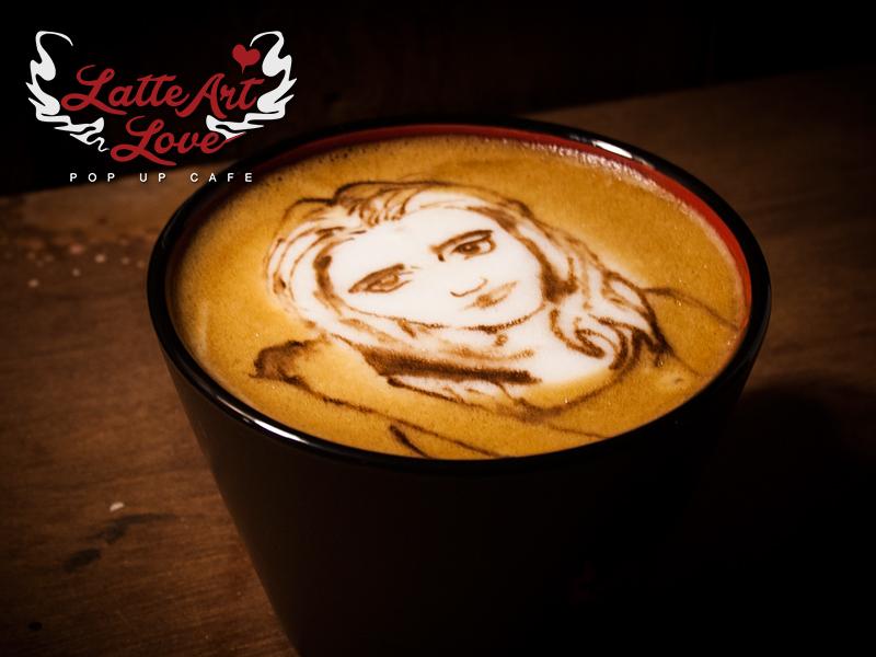Latte Art Love - Buffy the Vampire Slayer