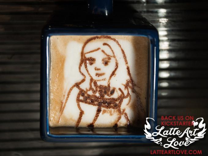 Latte Art - Amy Pond
