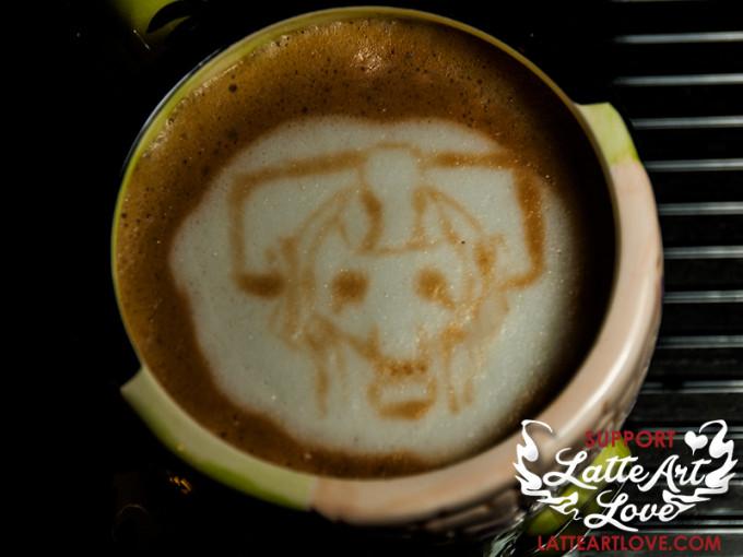 Latte Art - Doctor Who - Cyberman