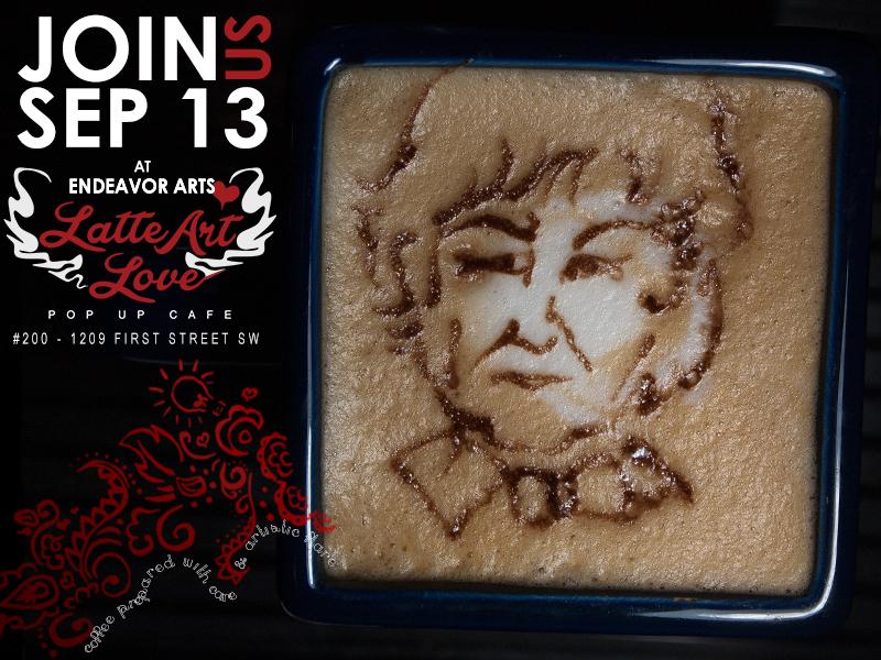 Latte Art - Third Doctor