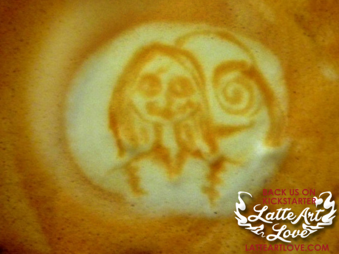 Latte Art - Sally