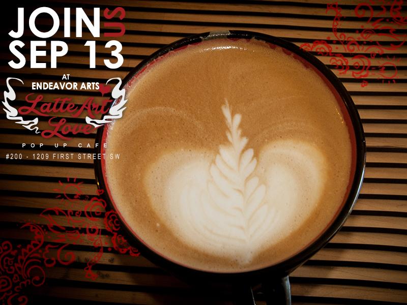 Latte Art Love - Elle's Rosetta